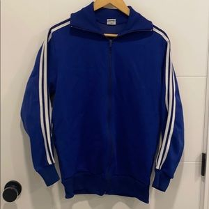 Vintage Adidas Blue zip up size 7 men's small